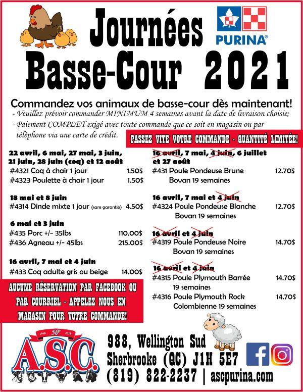poule 2021 maj 02.03.21